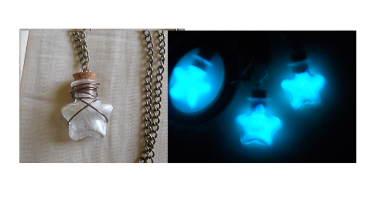 Glow in the dark Wishing Necklace